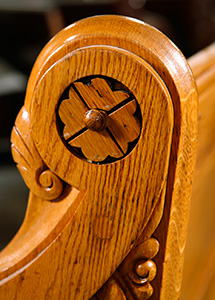 Historic Church pew restoration